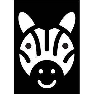 zebra-verde